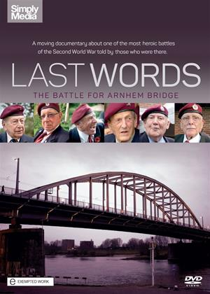 Rent Last Words: The Battle for Arnhem Bridge Online DVD Rental
