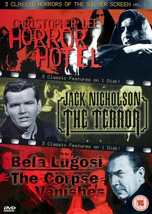 Rent 3 Classic Horrors of the Silver Screen: Horror Hotel / The Terror / The Corpse Vanishes Online DVD Rental