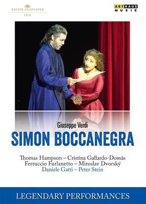 Rent Simon Boccanegra: Wiener Staatsoper (Daniele Gatti) Online DVD Rental