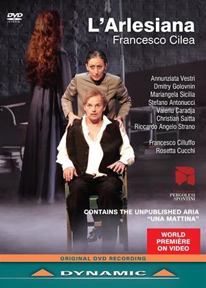 Rent L'arlesiana: Teatro G.B. Pergolesi (Cilluffo) Online DVD Rental