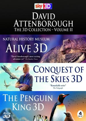 Rent David Attenborough: The 3D Collection: Vol.2 Online DVD Rental