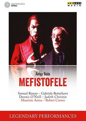 Rent Mefistofele: San Francisco Opera (Arena) Online DVD & Blu-ray Rental
