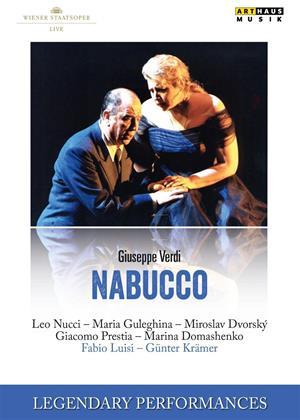 Rent Nabucco: Wiener Staatsoper (Luisi) Online DVD & Blu-ray Rental