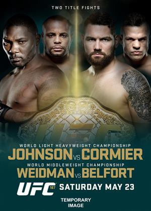 Rent Ultimate Fighting Championship: 187: Johnson vs. Cormier Online DVD Rental