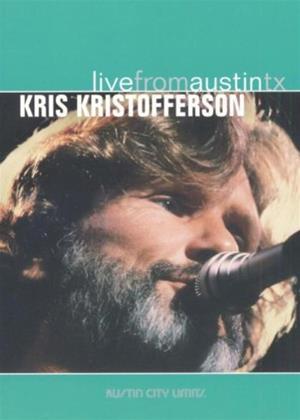 Rent Kris Kristofferson: Live from Austin, TX Online DVD Rental