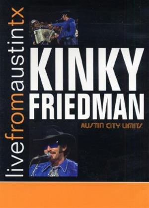 Rent Kinky Friedman: Live from Austin, TX Online DVD Rental