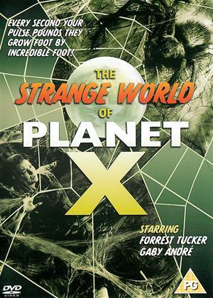 Rent The Strange World of Planet X Online DVD Rental