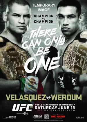 Rent Ultimate Fighting Championship: 188: Velasquez Vs Werdum Online DVD Rental