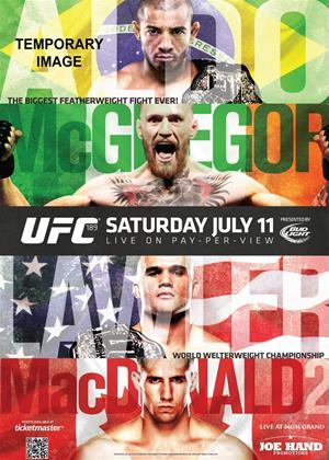 Rent Ultimate Fighting Championship: 189: Mendes Vs McGregor Online DVD Rental