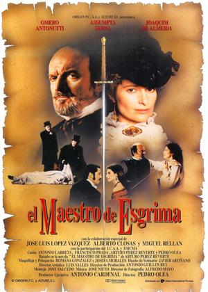 Rent The Fencing Master (aka El Maestro de Esgrima) Online DVD & Blu-ray Rental