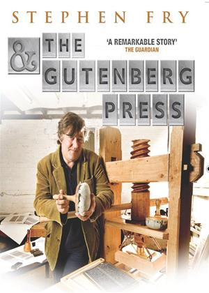 Rent Stephen Fry and the Guttenberg Press Online DVD Rental