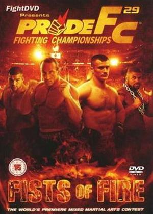 Rent Pride Fighting Championships 29: Fists of Fire Online DVD Rental