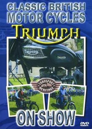 Rent Classic British Motorcycles: Triumph Online DVD Rental