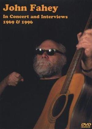 Rent John Fahey: In Concert and Interviews 1969 and 1996 Online DVD Rental