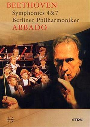 Rent Beethoven: Abbado: Symphonies 4 and 7 Online DVD Rental