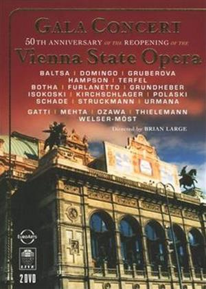 Rent Vienna State Opera Gala: Gala Concert 50th Anniversary of the Re-opening Online DVD Rental