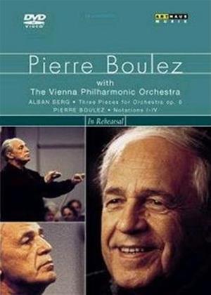 Rent Pierre Boulez in Rehearsal Online DVD Rental