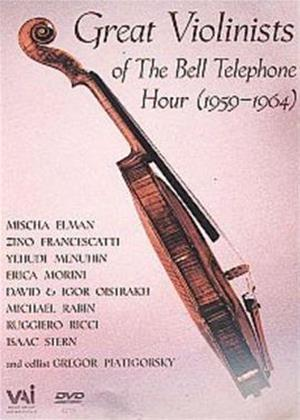 Rent Great Violinists of the Bell Telephone Hour 1959-1964 Online DVD Rental