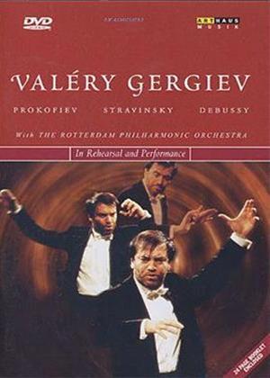 Rent Valery Gergiev in Rehearsal Online DVD Rental