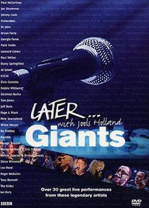 Rent Later with Jools Holland: Later: Giants Online DVD Rental