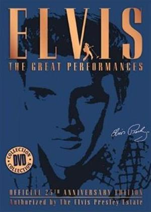 Rent Elvis Presley: The Great Performances Online DVD Rental