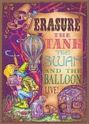 Rent Erasure: The Tank, The Swan and The Balloon: Live Online DVD Rental