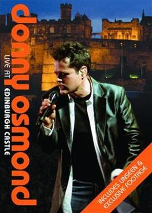 Rent Donny Osmond: Live at Edinburgh Castle Online DVD Rental