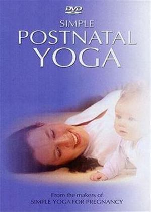 Rent Simple Postnatal Yoga Online DVD Rental
