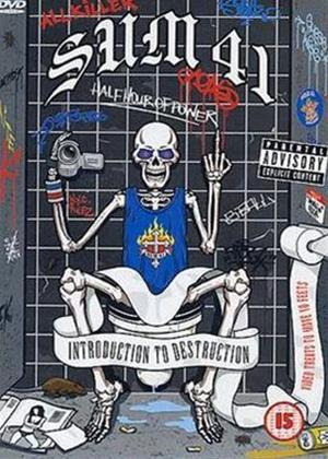 Rent Sum 41: Introduction to Destruction Online DVD Rental