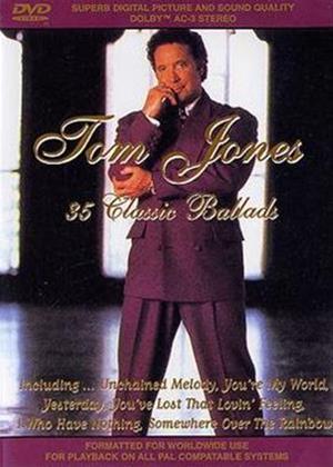 Rent Tom Jones: 35 Classic Ballads Online DVD Rental