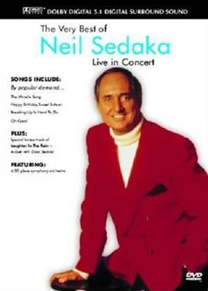 Rent Neil Sedaka: Live in Concert Online DVD Rental