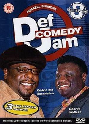 Rent Def Comedy Jam: All Stars: Vol.8 Online DVD Rental