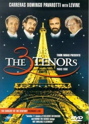 Rent The Three Tenors in Paris Online DVD Rental
