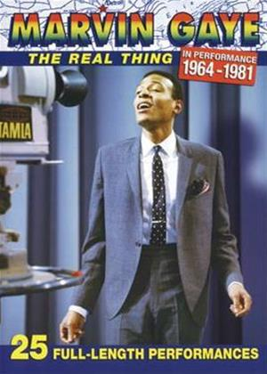 Rent Marvin Gaye: The Real Thing in Performance 1964 to 1981 Online DVD Rental