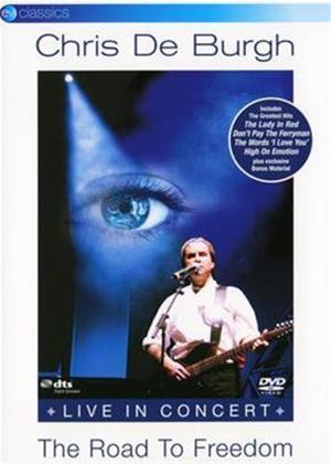 Rent Chris De Burgh: The Road to Freedom: Live in Concert Online DVD Rental