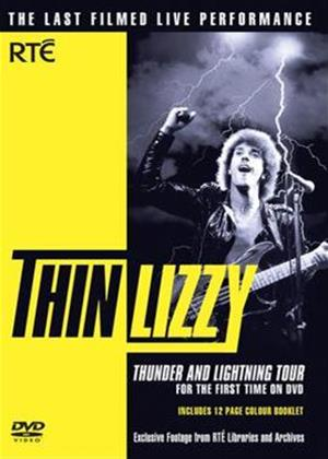 Rent Thin Lizzy: Thunder and Lightning Tour Online DVD Rental