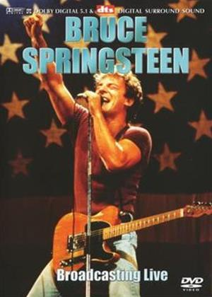 Rent Bruce Springsteen: Broadcasting Live Online DVD Rental