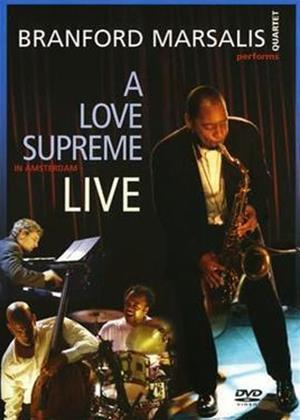 Rent Branford Marsalis: A Love Supreme Live Online DVD Rental