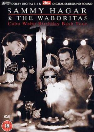 Rent Sammy Hagar and the Waboritas: Cabo Wabo Birthday Bash Tour Online DVD Rental