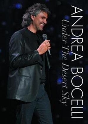 Rent Andrea Bocelli: Under the Desert Sky: Live in Las Vegas Online DVD Rental