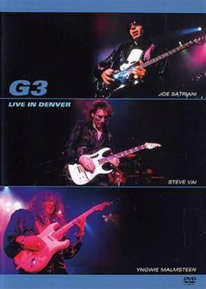 Rent G3: Live in Denver Online DVD Rental