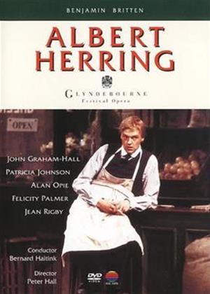 Rent Albert Herring: Glyndebourne Festival Opera Online DVD Rental