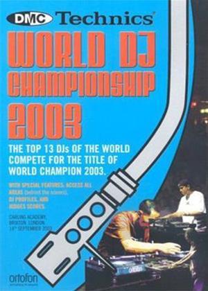 Rent Technics World Championship 2003 Online DVD Rental