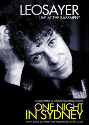 Rent Leo Sayer: One Night in Sydney: Live at the Basement Online DVD Rental