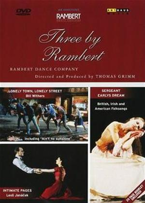 Rent Three by Rambert Online DVD Rental