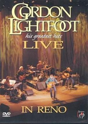 Rent Gordon Lightfoot: His Greatest Hits: Live in Reno Online DVD Rental
