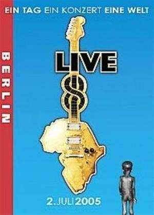 Rent Live 8: Berlin Online DVD Rental