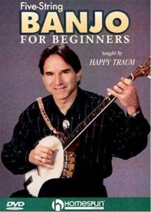 Rent Five-String Banjo for Beginners Online DVD Rental