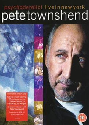 Rent Pete Townshend: Live Online DVD Rental