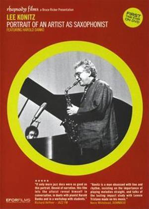 Rent Lee Konitz: Portrait of an Artist as Saxophonist Online DVD Rental